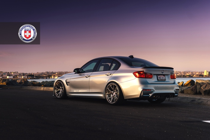 BMW-M3-F80-with-HRE-P101-in-Brushed-Dark-Clear-8