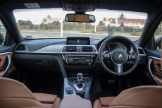 A look at the interior of the 2017 BMW 420i Gran Coupe